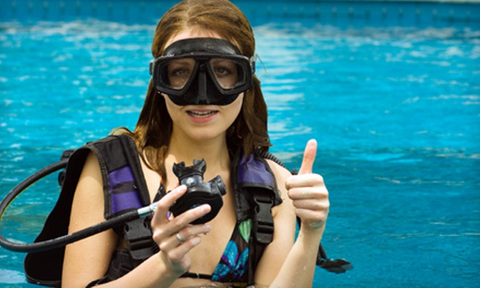 Diver's Den Miami - Westwood Lake: Introductory Scuba Class for One or Two at Diver's Den Miami in Kendall