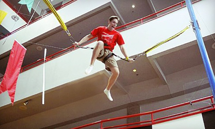 Bungee Zoom Entertainment LLC - Southwest Topeka: Indoor Bungee Jumping for Two or Four at Bungee Zoom Entertainment LLC (Half Off)