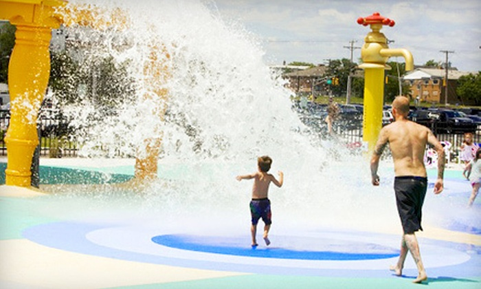 Mini Golf, Water-Park Visit, or Both for Four at Asbury Park Boardwalk Amusements (Up to 58% Off). Six Options Available.