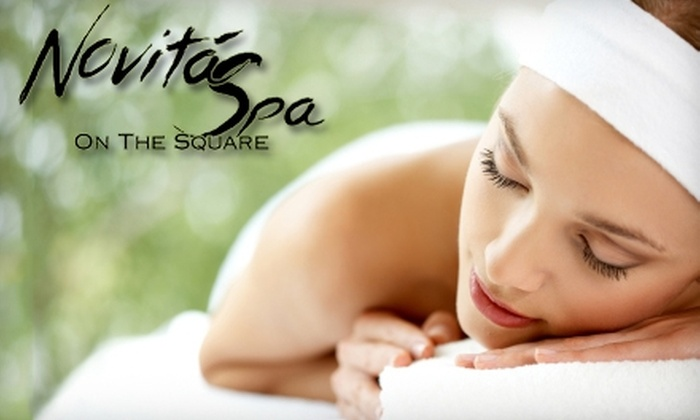 Novitá Spa on the Square - Downtown: $85 for a Massage, Detox, and Aromatherapy Package at Novitá Spa on the Square in Georgetown ($185 Value)