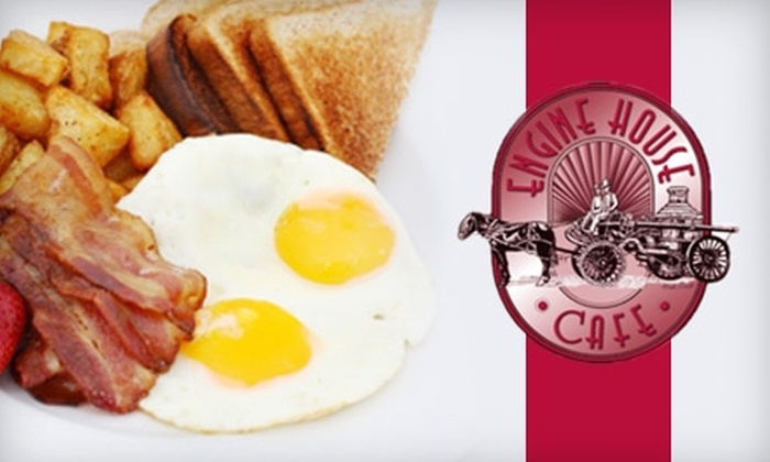 Engine House Cafe - Lincoln: $6 for $12 Worth of Classic American Fare and Drinks at Engine House Cafe
