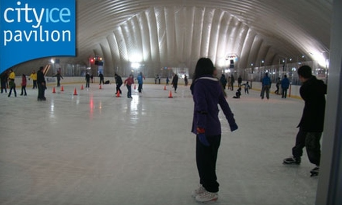 City Ice Pavilion - Sunnyside: $6 for Admission and Skate Rental at City Ice Pavilion in Long Island City (Up to $13 Value)