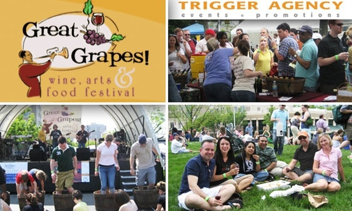 Great Grapes - Reston: $15 for a Two-Day Ticket to Great Grapes Wine Festival