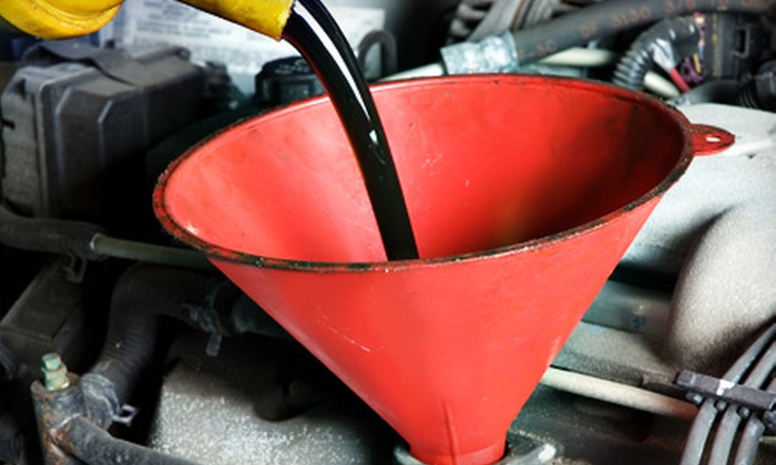 Mcelveen Chevrolet - Mount Pleasant: Oil Change or Oil Change and Nitrogen Service at Mcelveen Chevrolet in Mt. Pleasant (Up to 70% Off)