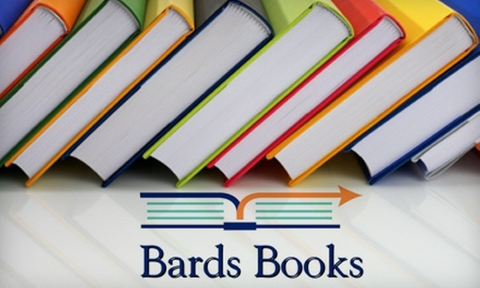 Bards Books - Encanto: $10 for $20 Worth of New and Used Books at Bards Books