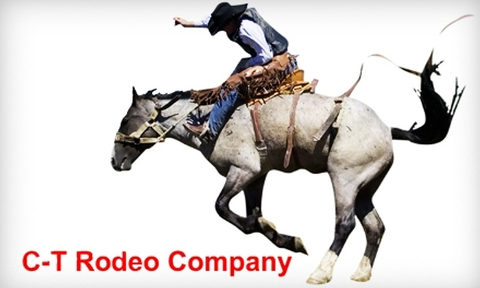 C-T Rodeo - Guadalupe: $5 for Two Tickets to C-T Rodeo Lubbock Winter Rodeo & Wild West Show (Up to $14 Value)