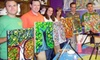 Sip & Stroke - Ellard: BYOB Painting Class for One or BYOB Painting-Class Party for Up to 20 at Sip & Stroke in Johns Creek (Up to 60% Off)