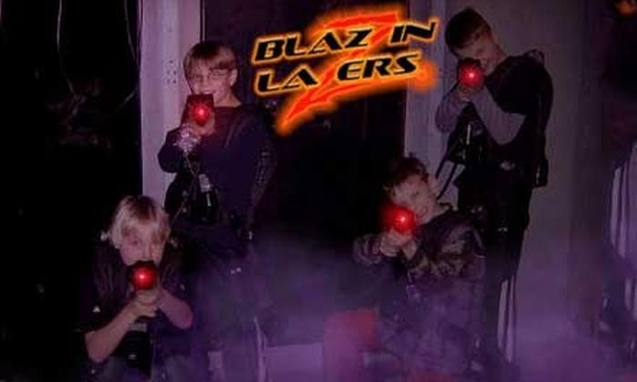 Blazzin' Lazers - Honey Creek Manor: $8 for Three Games of Laser Tag at Blazzin' Lazers ($17.45 Value)