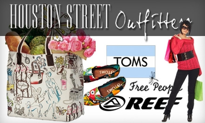Houston Street Outfitters - Cedar Hill: $25 for $50 Worth of Name-Brand Boutique Merchandise at Houston Street Outfitters in Cedar Hill