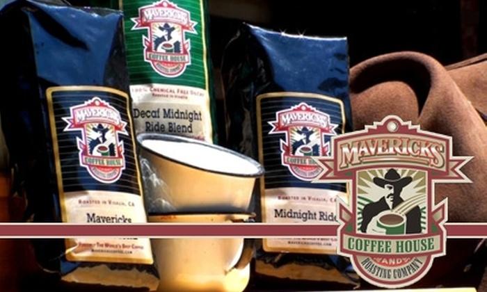 Mavericks Roasting Company - Visalia: $10 for $20 Worth of Fresh Coffee at Mavericks Roasting Company
