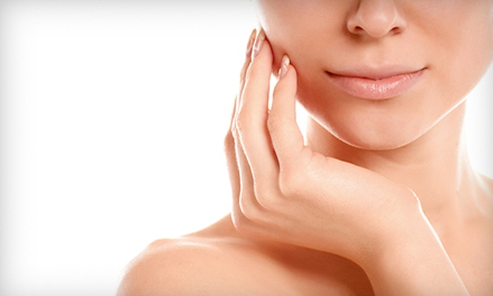 Jolie Salon and Spa - Brighton: $25 for Manicure and $30 Worth of Waxing Services at Jolie Salon and Spa ($52 Value)