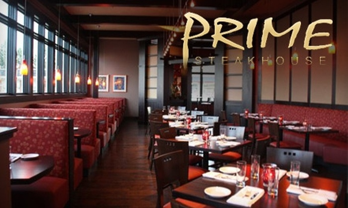 Prime Steakhouse - Webster: $20 for $40 Worth of Gourmet Fare and Drinks at Prime Steakhouse