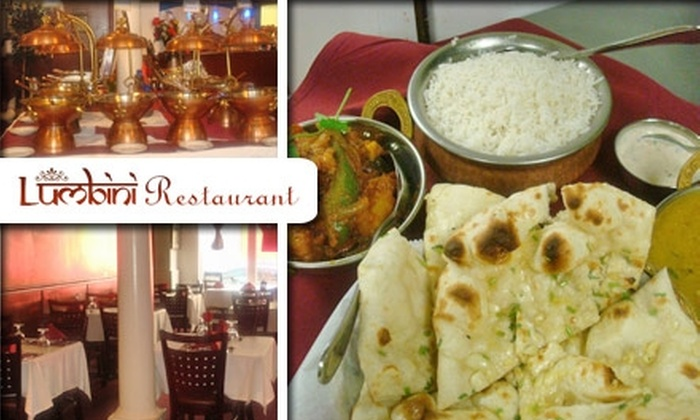 Lumbini Restaurant - Downtown: $15 for $35 Worth of Indian and Nepalese Fare at Lumbini