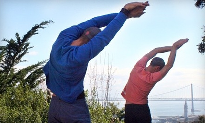 Hiking Yoga - Multiple Locations: $149 for 90-Minute Yoga Hike for Up to 15 from Hiking Yoga ($300 Value)