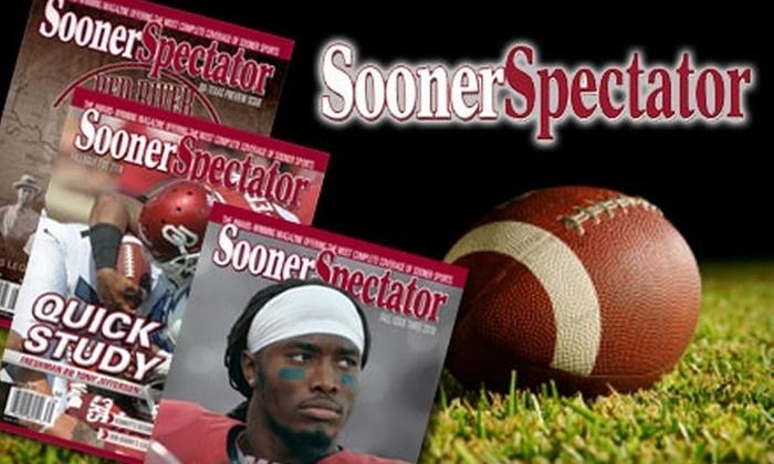 "Sooner Spectator Sports Magazine - Near North Side: $20 for One Year Subscription to ""Sooner Spectator"" Sports Magazine"