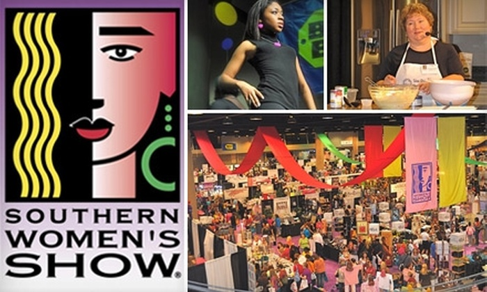 Southern Women's Show - Central City: $9 for Two Tickets to the Southern Women's Show at the Jefferson Convention Complex Oct. 7–10 ($16 Value)