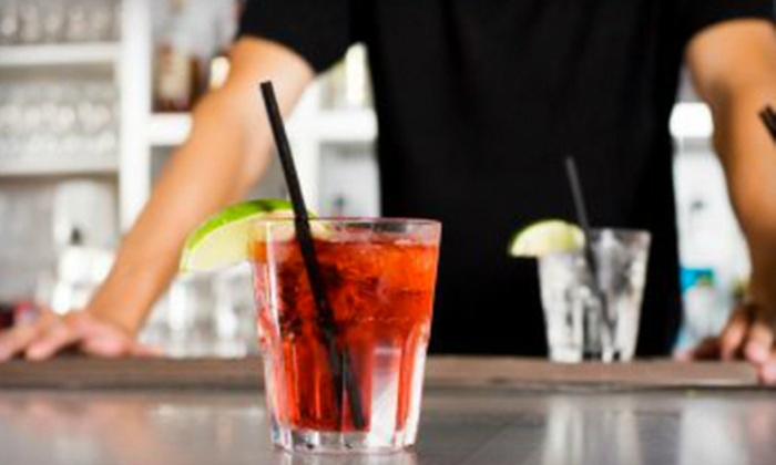 786-Bartend - Royal Poinciana: 4-Hour Cocktail Workshop for One or Two or 40-Hour Bartending Course at 786-Bartend in Hollywood (Up to 68% Off)