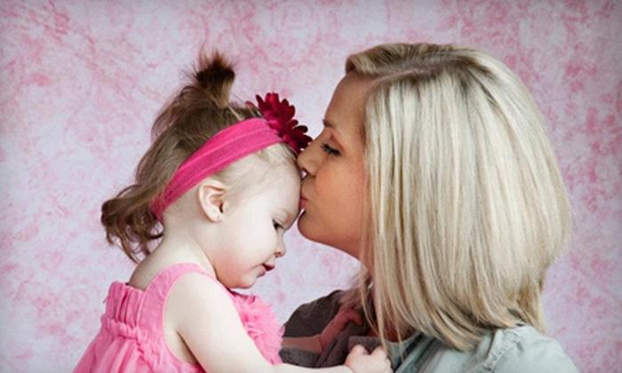 Aedan Studio Photography - West Hillsboro: In-Studio or On-Location Mother-and-Child Photo-Shoot Package from Aedan Studio Photography (Up to 72% Off)