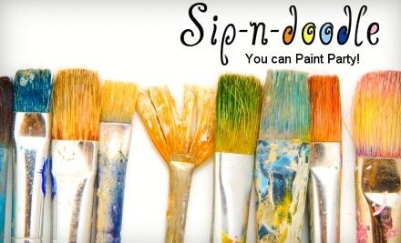 Sip-n-Doodle: Single Painting Class - Sip-n-Doodle in McKinney