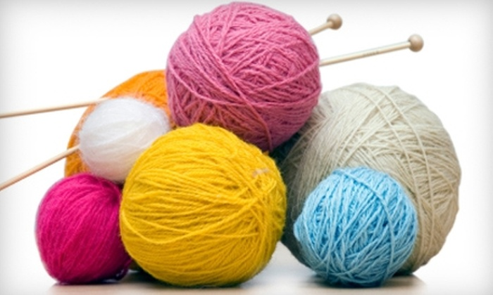 A Stitch In Time - San Marino: $10 for $20 Worth of Knitting and Needlework Supplies at A Stitch In Time in San Marino