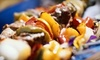 Mediterranean Grill - Newton Center: Three-Course Mediterranean Meal for Two or Four at Mediterranean Grill in Newton (Up to 56% Off)