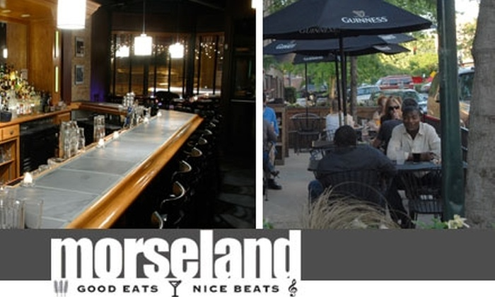Morseland - Chicago: $15 for $40 Worth of Comfort Fare and Drinks at Morseland