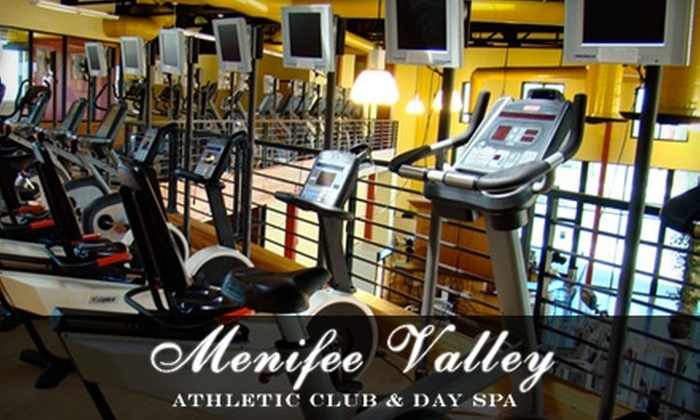 Menifee Valley Athletic Club and Day Spa - Sun City: $39 for a 30-Minute Organic Mini Spa Facial and a 30-Day Membership to Menifee Valley Athletic Club and Day Spa ($119 Value)