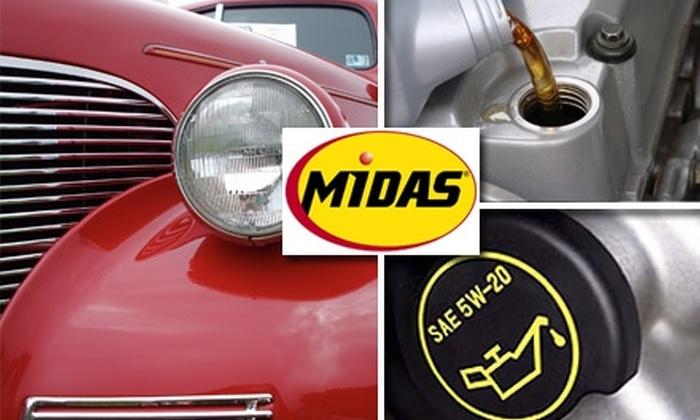 Midas Memphis - Memphis: $19 Oil Change and Tire Rotation at Midas Memphis in East Memphis ($38 Value)