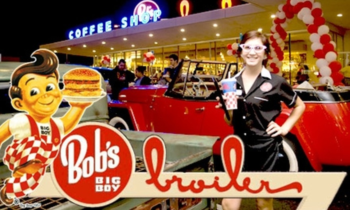 Bob's Big Boy Broiler - Multiple Locations: $8 for $16 Worth of Burgers, Shakes, Fries, and More at Bob's Big Boy Broiler
