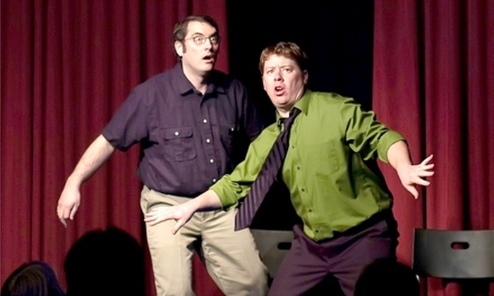 Laugh Out Loud Theater - Schaumburg: $10 Admission to an Improv Comedy Show and Popcorn at Laugh Out Loud Theater in Schaumburg (Up to $21 Value). Choose Between Two Shows.