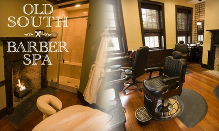 Old South Barber Spa - French Quarter: $35 for an Old-Fashioned Blade Shave and a Stimulating Scalp Massage ($60 Value) or $45 for an Old South Signature Massage ($85 Value) at Old South Barber Spa