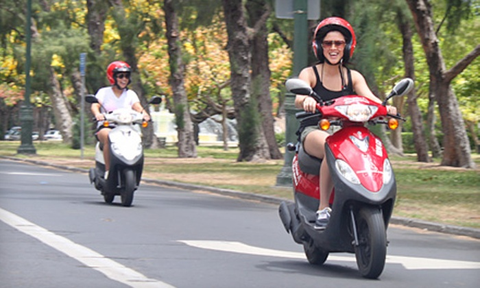 Hawaiian Style Rentals - Waikiki: Half Day Moped Rental or Guided Moped Tour for Two with 24-Hour Rentals at Hawaiian Style Rentals