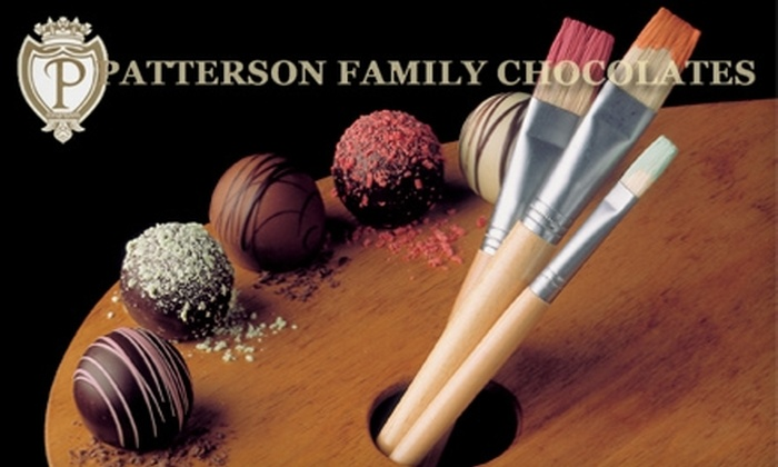 Patterson Family Chocolates: $15 for $30 Worth of Gourmet Truffles from Patterson Family Chocolates