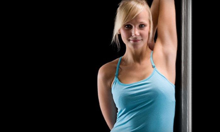 Dance Alley - Boone Creek: Pole-Dance Classes at Dance Alley. Three Options Available.