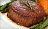 OOB SB Eighty One - Westlake: $20 for $40 Worth of Steak-House Fare at SB eighty one in Westlake