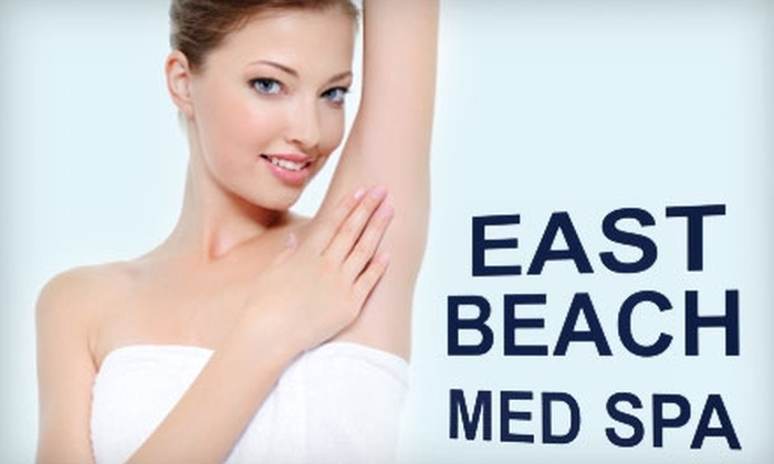 East Beach Med Spa & Laser Center - East Ocean View: $129 for Four Laser Hair Removal Treatments at East Beach Med Spa & Laser Center (Up to a $1,000 Value)