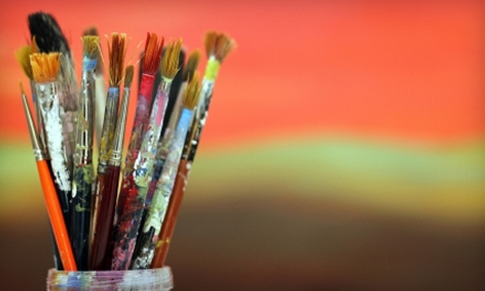 FAS Decorative Paint & Art Studio - Park City: $39 for a BYOB Painting Session for Two with Canvas and Supplies at FAS Decorative Paint & Art Studio in Park City ($80 Value)