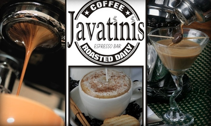 Javatinis Coffee - Laguna Hills: $10 for $20 Worth of Coffee, Smoothies, Pastries, and more from Javatinis Coffee