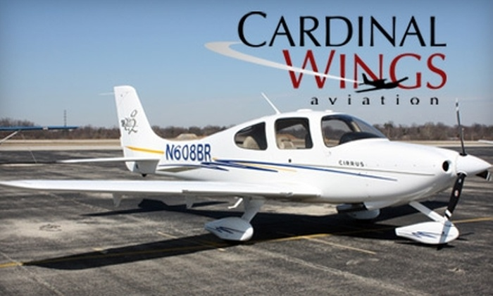 Cardinal Wings Aviation - Bowman: $35 for a Half-Hour Discovery Flight with Cardinal Wings Aviation ($70 Value)