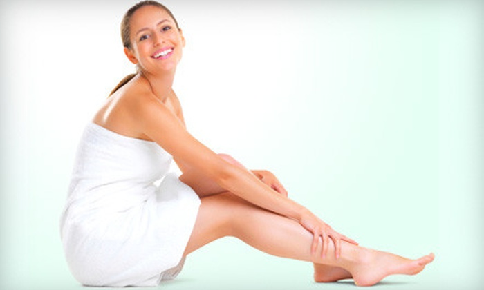 American Aesthetics Med Spa - Lynnwood: $95 for a Body-Spa Package with Scrub, Sauna, Hydration Treatment, and Wrap at American Aesthetics Med Spa ($195 Value)