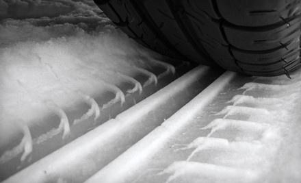 $379 Toward New Snow Tires, Installation, and Balance - Ok Tire in Calgary