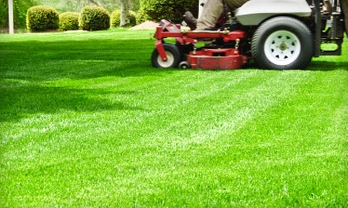Pro-Mow Lawn Care - Multiple Locations: $30 for a Half-Acre of Lawn Care ($60 Value) or $55 for One Full Acre of Lawn Care from Pro-Mow Lawn Care ($110 Value)