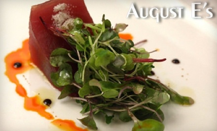 $60 Groupon to August E's - August E's in Fredericksburg