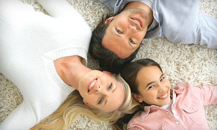 Supreme Cleaning Group - Markham: $39 for Carpet Cleaning for Three Rooms from Supreme Cleaning Group ($142.50 Value)