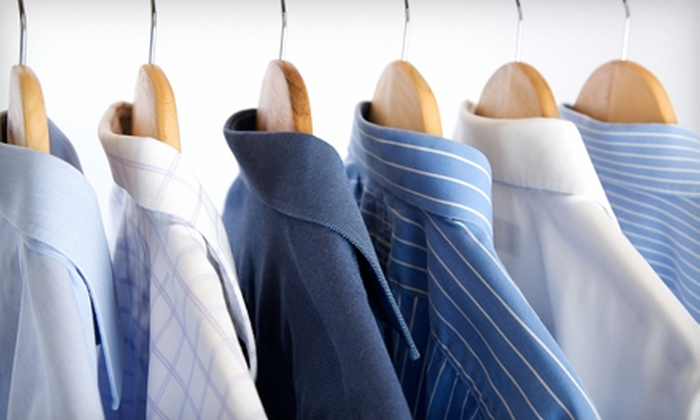 Dry Clean Xpress - Multiple Locations: Comforter Cleaning or Dry-Cleaning Services at Dry Clean Xpress (Up to 55% Off). Three Options Available.