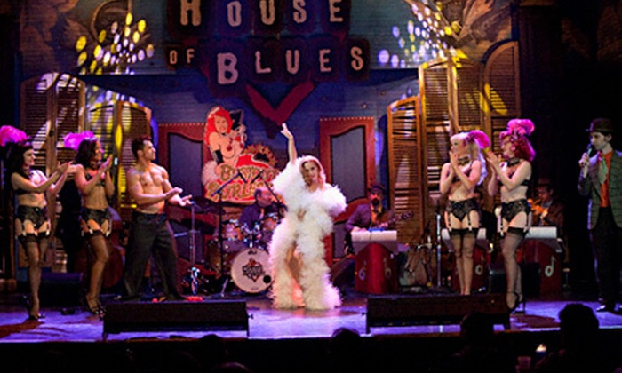 Bustout Burlesque - House of Blues New Orleans: One G-Pass Ticket to See Bustout Burlesque at House of Blues on November 23 at 10:30 p.m. (Up to $31 Value)