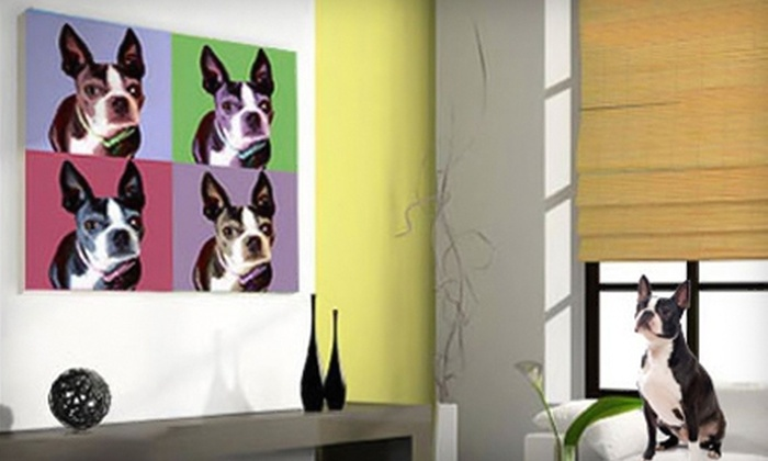 PhotoCrazed: Personalized Canvas Artwork from PhotoCrazed. Two Options Available.
