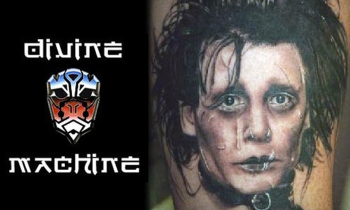 Divine Machine Tattoo - Allen: $59 for One Hour of Tattooing at Divine Machine Tattoo ($125 Value)