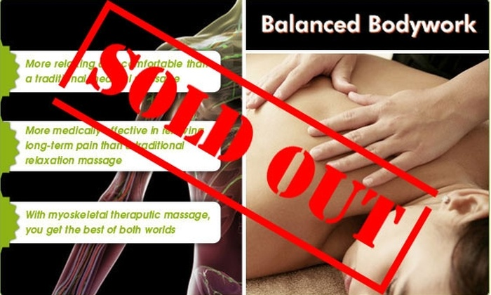 Balanced Bodyworks - Lakeview: $70 for Two One-Hour Massages (Half-Off)