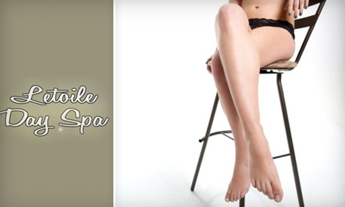 Letoile Day Spa - Norfolk: Classic Manicure and Spa Pedicure or a Bikini Wax from Letoile Day Spa in Norfolk. Choose One of Two Options.